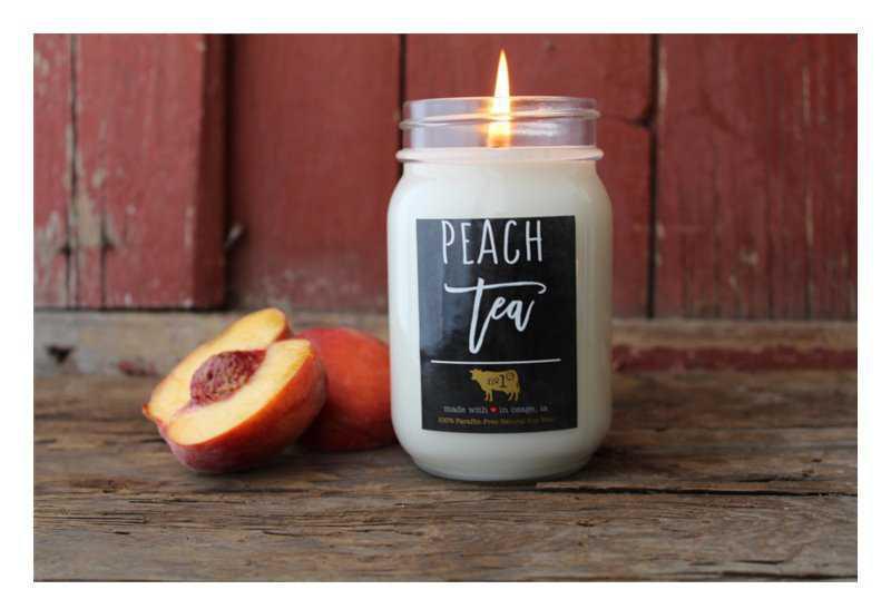 Milkhouse Candle Co. Farmhouse Peach Tea candles