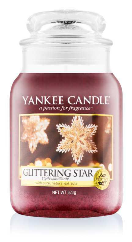 Yankee Candle Glittering Star candles