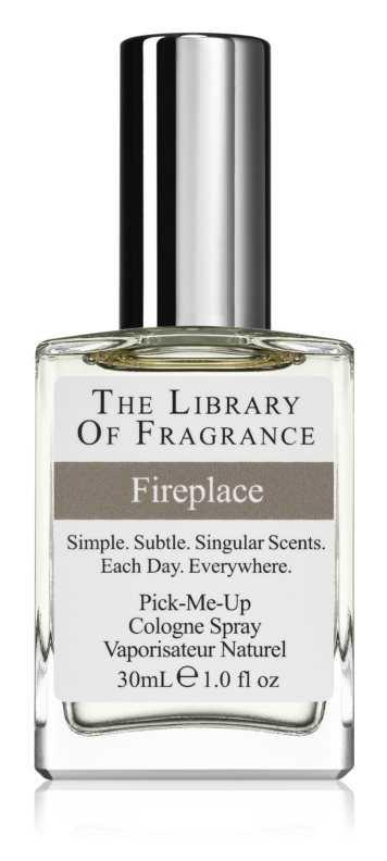 The Library of Fragrance Fireplace