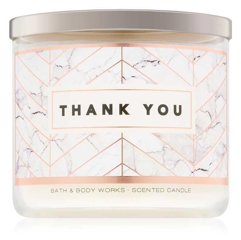 Bath & Body Works Merci Paris candles