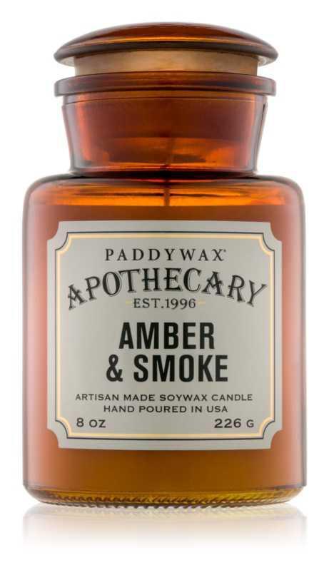 Paddywax Apothecary Amber & Smoke