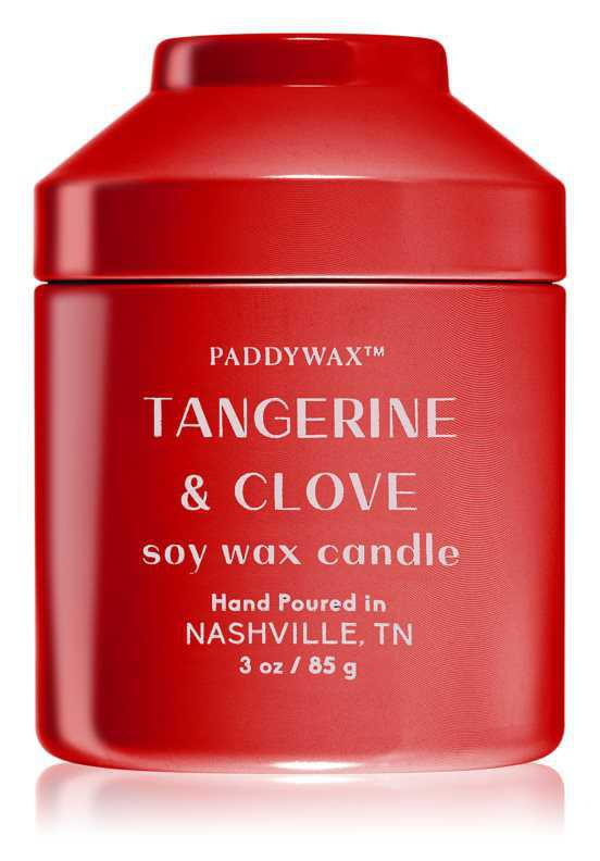 Paddywax Whimsy Tangerine & Clove candles