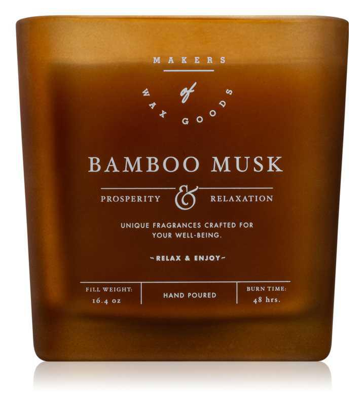 Makers of Wax Goods Bamboo Musk