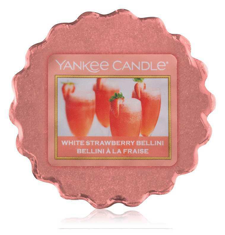 Yankee Candle White Strawberry Bellini