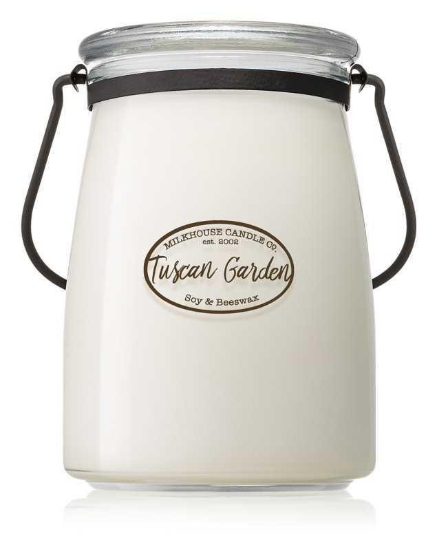 Milkhouse Candle Co. Creamery Tuscan Garden