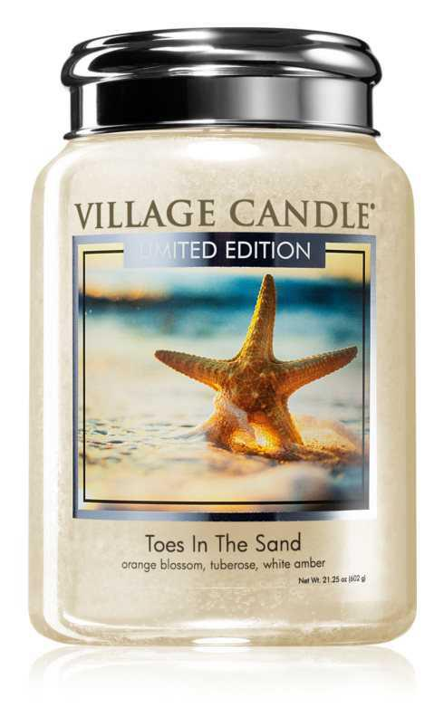 Village Candle Toes in the Sand