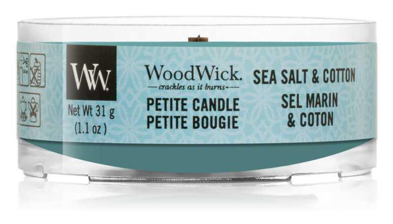 Woodwick Sea Salt & Cotton