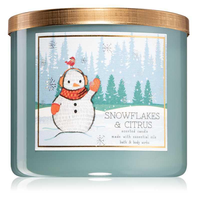Bath & Body Works Snowflakes & Citrus