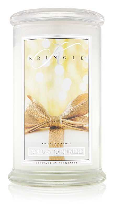 Kringle Candle Gold & Cashmere