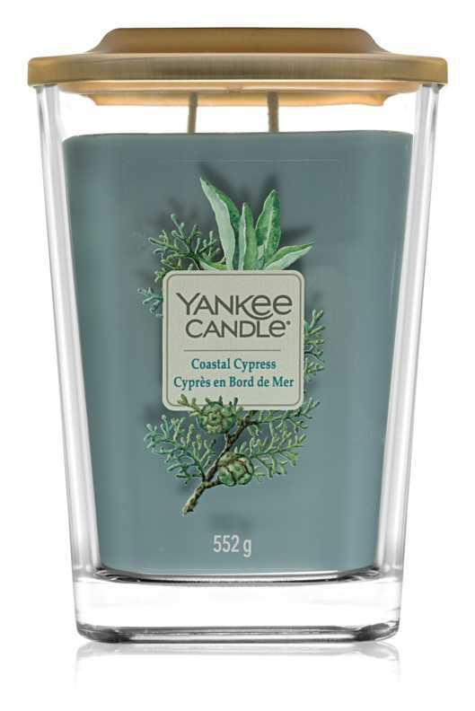 Yankee Candle Elevation Coastal Cypress candles