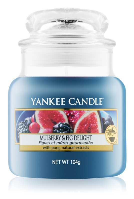 Yankee Candle Mulberry & Fig candles