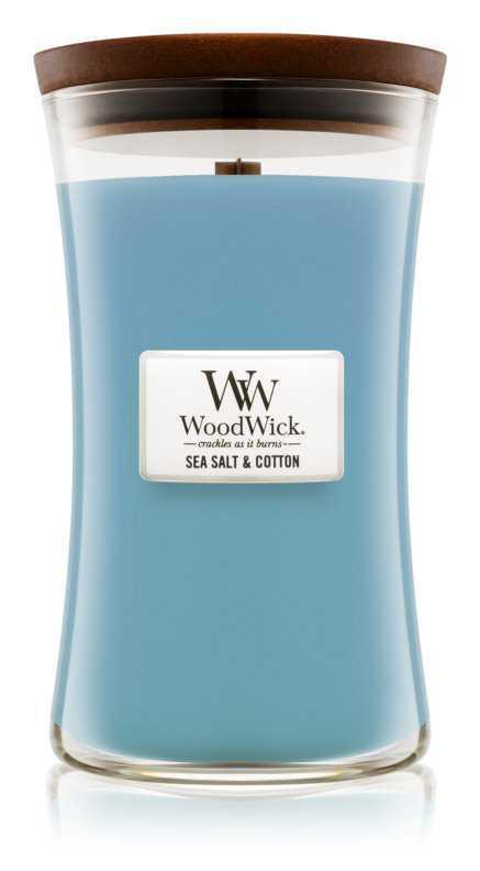 Woodwick Sea Salt & Cotton