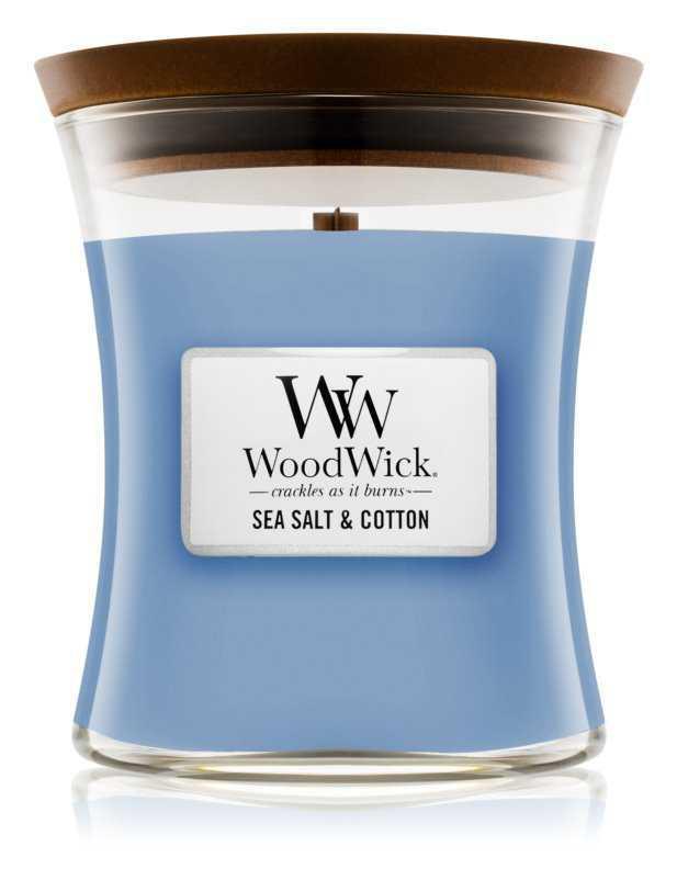 Woodwick Sea Salt & Cotton home fragrances