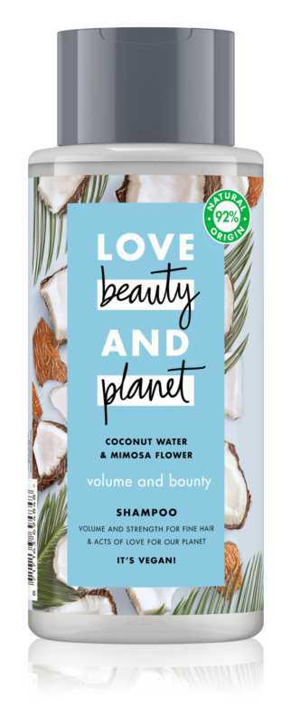 Love Beauty & Planet Volume and Bounty hair