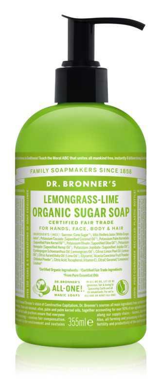 Dr. Bronner's Lemongrass & Lime body