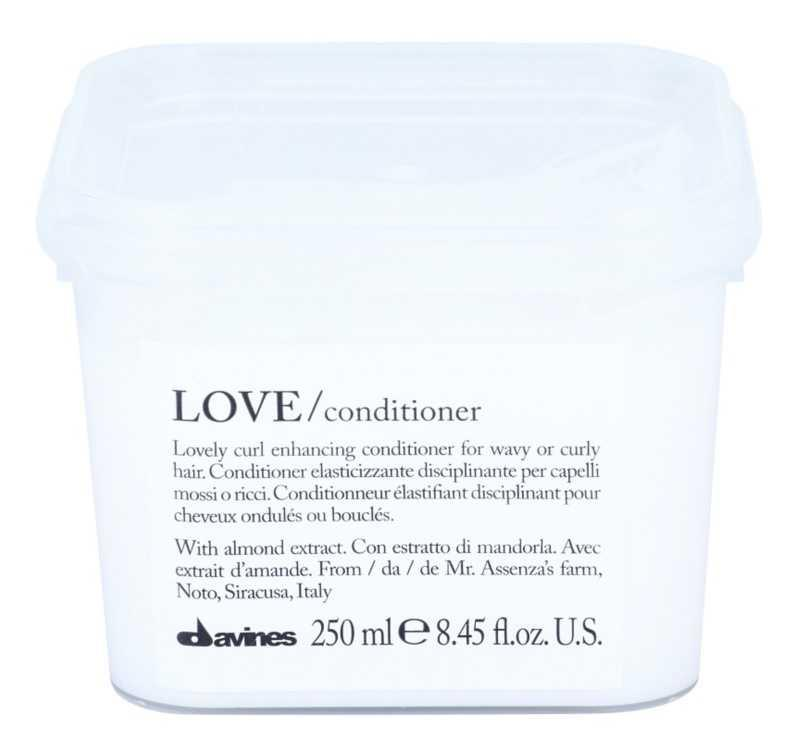 Davines Love Almond hair conditioners