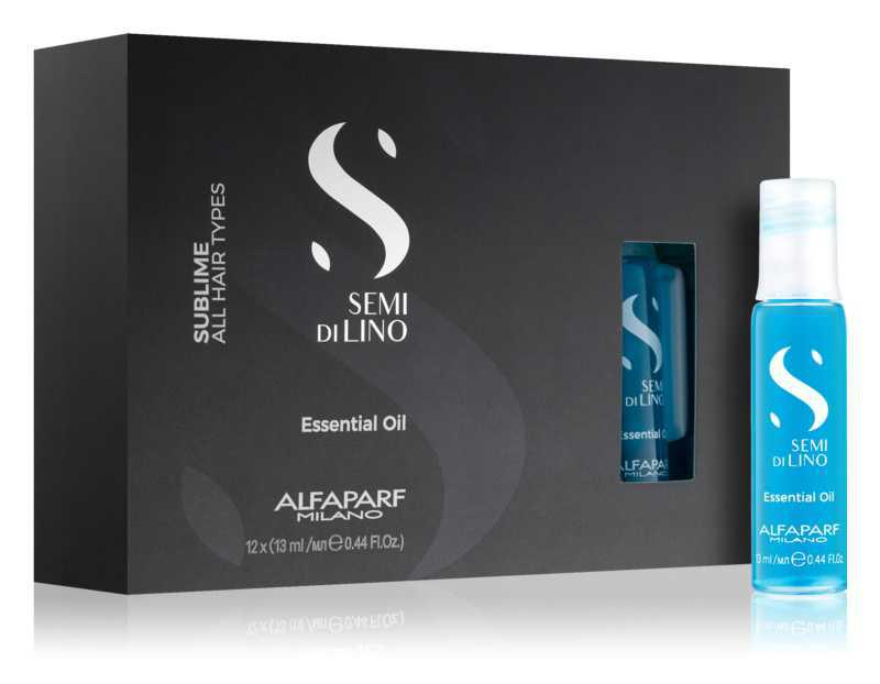 Alfaparf Milano Semi di Lino Sublime Essential Oil