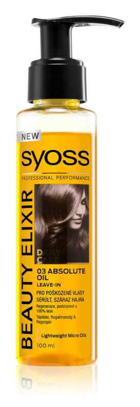 Syoss Beauty Elixir