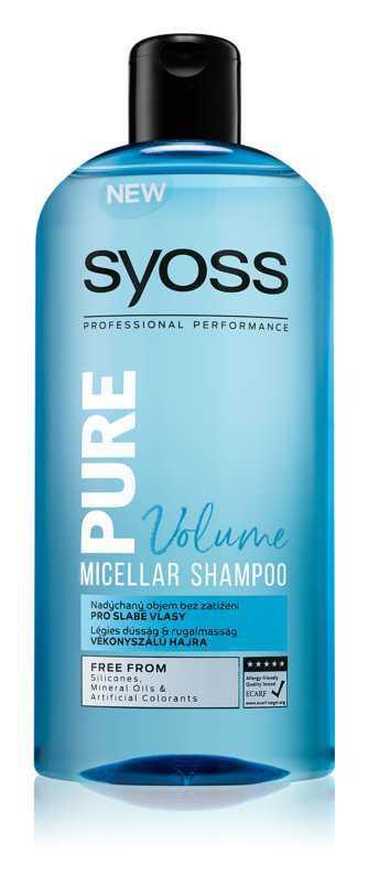 Syoss Pure Volume