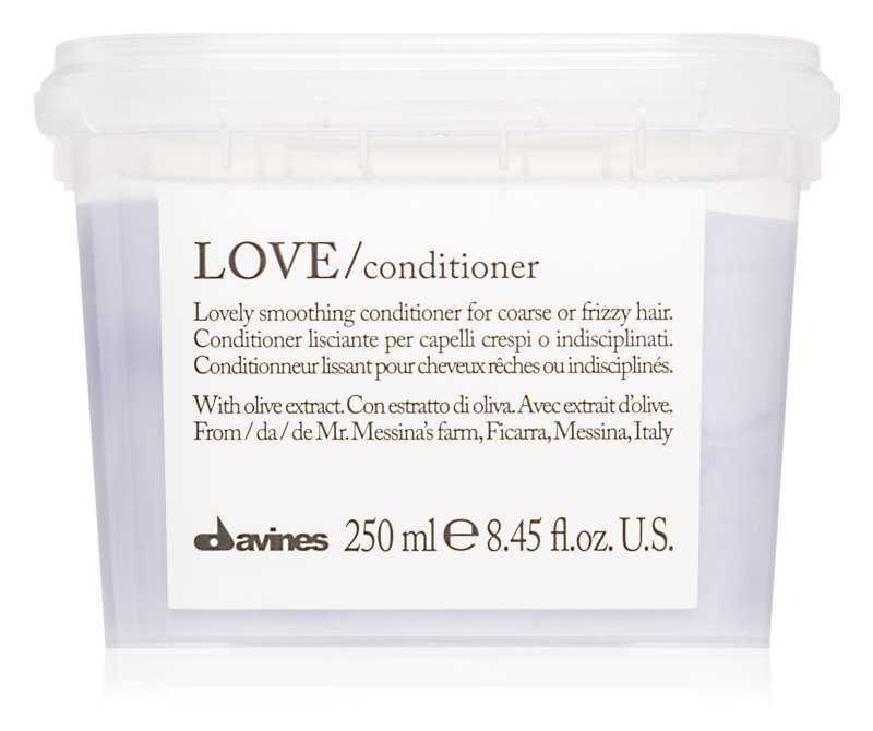 Davines Love Olive hair conditioners