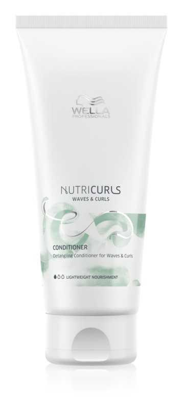 Wella Professionals Nutricurls Waves & Curls hair conditioners