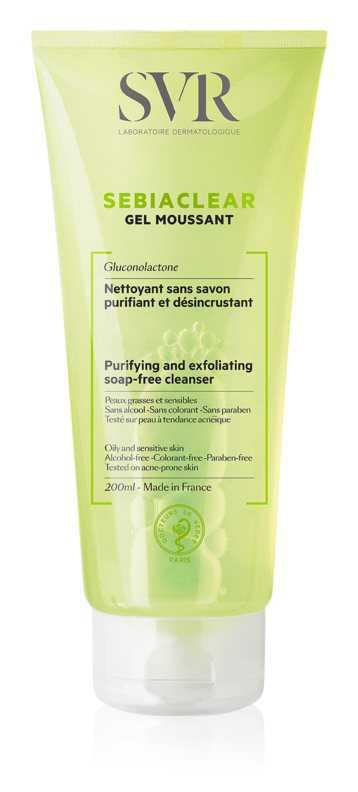 SVR Sebiaclear Gel Moussant oily skin care