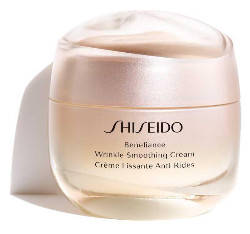 Shiseido Benefiance Wrinkle Smoothing Cream mixed skin care