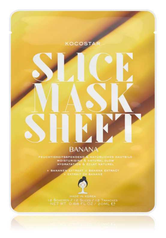 KOCOSTAR Slice Mask Sheet Banana